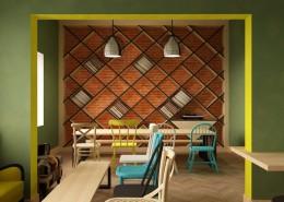 Cafe στον Πειραιά υπό κατασκευή